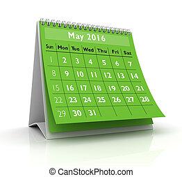 May 2016 Calendar