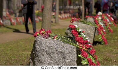 May 9 - Victory Day in the Great Patriotic War. Memorial ...