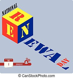 National Renewal Day - May celebratory event - National...