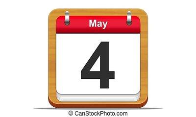 May. - May calendar.