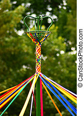 May Pole in colour