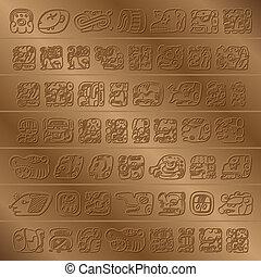 maya, glyph