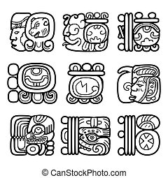 maya, glyphs, システム, 執筆