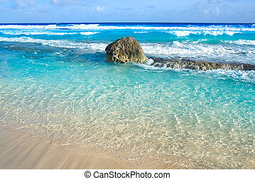 maya, méxico, ilha, riviera, cozumel, praia