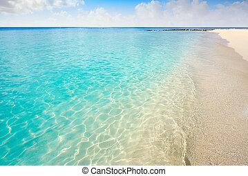 maya, palancar, ilha, riviera, cozumel, praia