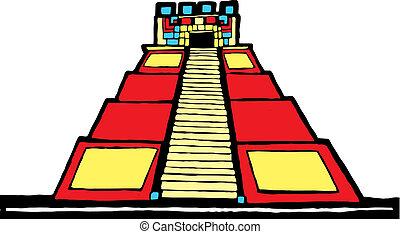 mayan, ピラミッド