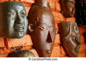 mayan, マスク