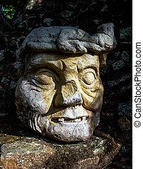mayan, 彫刻