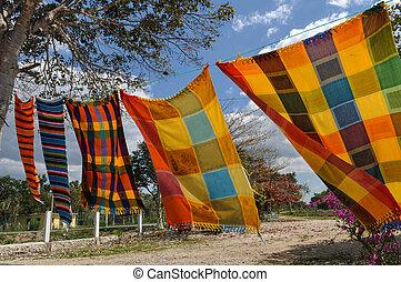 mayan, 毛布, セール, メキシコ\