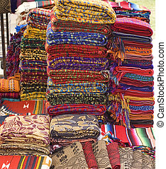 mayan, 織物