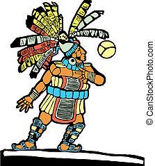 Mayan Ballplayer #1 - Mayan Ballplayer designed after...