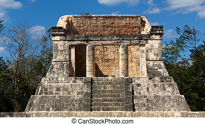 Mayan Dais at Chichen Itza