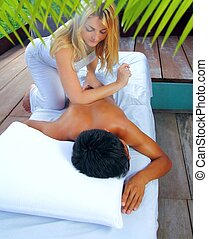 Mayan massage paravertebral physiotherapy - Mayan massage...