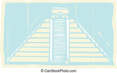 Mayan Pyramid Codex