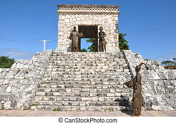 mayan, ruínas, méxico