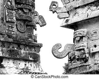 Mayan ruins of Chichen Itza Nunnery