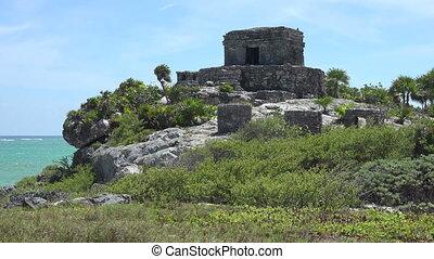 Mayan Ruins - Temple Pyramid Build
