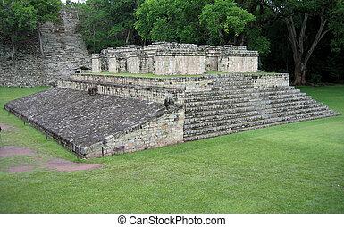 mayan, tempio