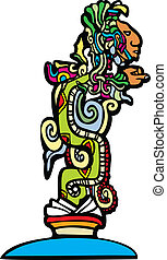 Mayan Vision Serpent - Vision serpent derived from...