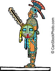 Mayan Warrior #4