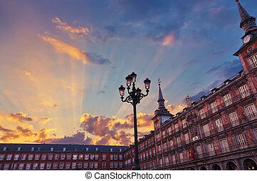 Mayor Plaza - Madrid Spain