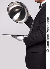 mayordomo, servicio de plata
