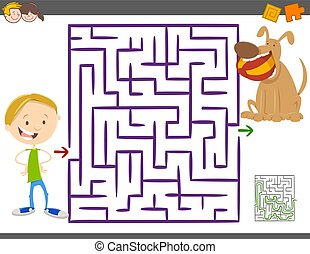 maze activity game for kids
