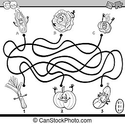 maze game coloring book