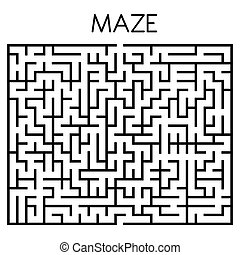 maze game illustration