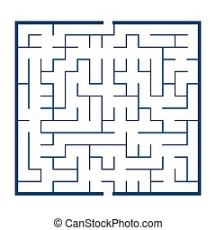 maze game illustration