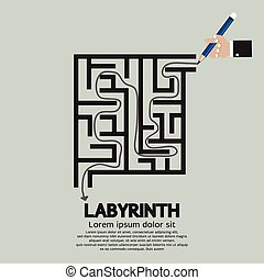 Maze Labyrinth.