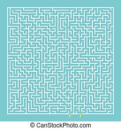Maze, labyrinth.