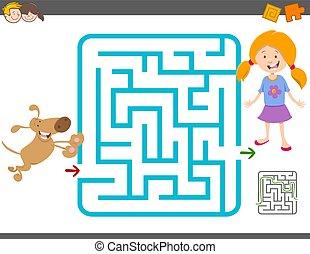 maze laisure activity game