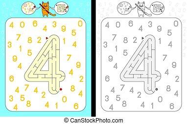 Maze number 4