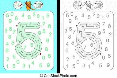 Maze number 5