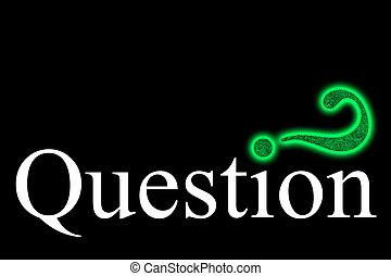 maze-question, punto interrogativo