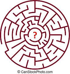 Maze - Round maze