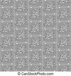 maze seamless pattern vector illustration (labyrinth background)