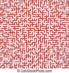 Maze. Seamless texture.