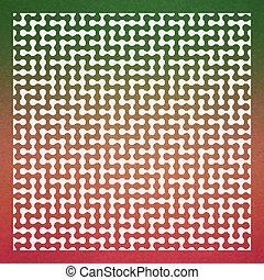 maze., seamless, vecteur, pattern., illustration.