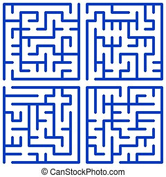 Maze set