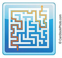 Maze Solution icon