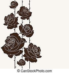 mazzolino, backgrou, seamless, rose