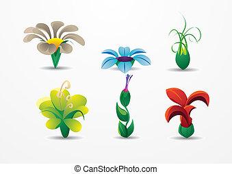 mazzolino, bello, fiori