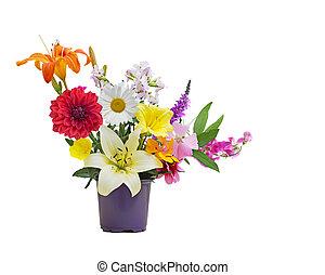 mazzolino, estate, fiore