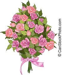 mazzolino, rose