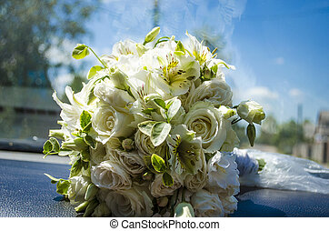 mazzolino, sposa, matrimonio