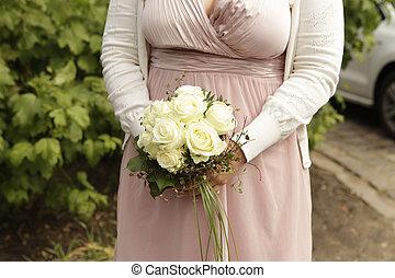 Mazzolino, sposa, nuziale
