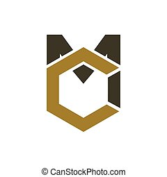 MC logo amazing design for your company or brand