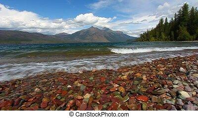 mcdonald, Gletscher,  national,  Park, See